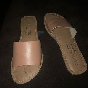Coconut flip flops